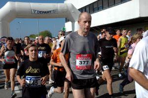 Parmi les participants à la course des 10 km, figurait Jean-Marie Euvrard